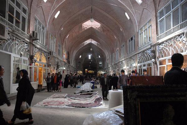 بازسازی بازار تبریز،ایران ،مسابقه معماری آقاخان 2013