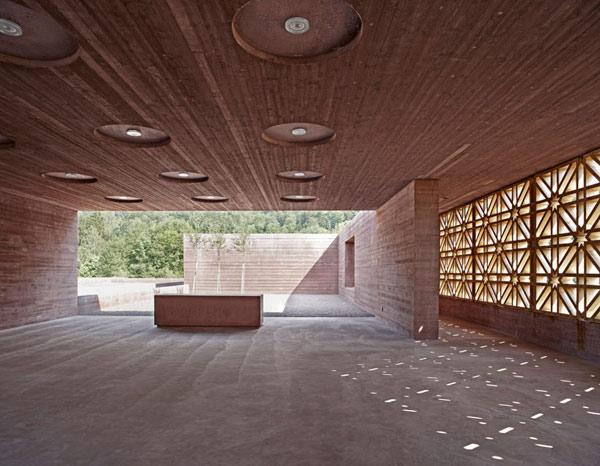 گورستان اسلامی فورالبزگ،اتریش،مسابقه معماری آقاخان 2013