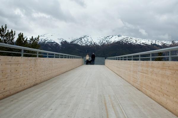 چشم انداز اورلند در نروژ،ساختاري همزيست با فضاي سبز