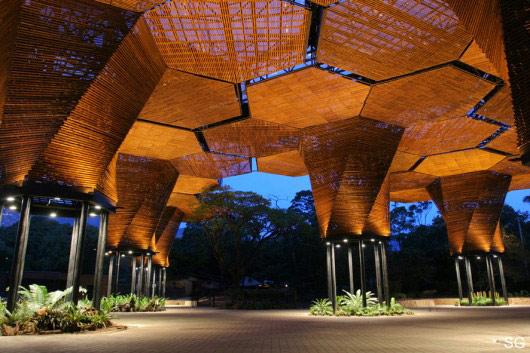 ده پروژه ی برتر که با الهام پذیری از متريال چوب ساخته شدند
