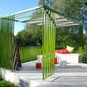تراس سبز معماران گراد؛هم اوایی کرباس و اهن و بتن با صداهای پنهان باغ