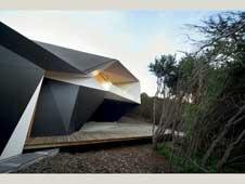 خانۀ بطری کِلاین،برنده جشنواره جهانی معماری 2009 ؛ توالی فضایی