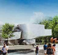 موزه هنری الی و ادیت براد؛ پیش آراییِ معماری اینده