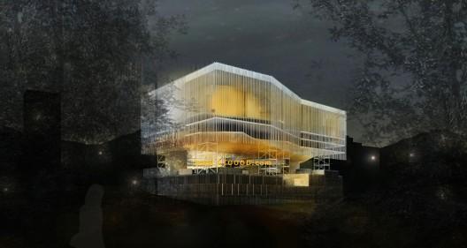 سالن سمفونی کاراکاس کاری از گروه معماری adjkm